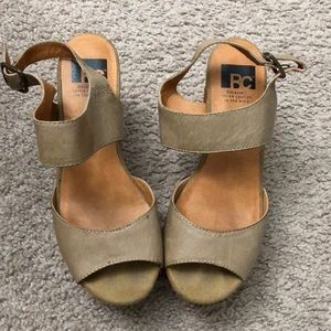 BC Wedge Sandals size 6.5